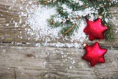 Weihnachtsdekorationen Lizenzfreie Stockfotografie