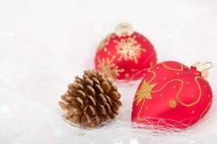 Weihnachtsdekorationen Stockfotos