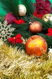 Weihnachtsdekorationen Lizenzfreie Stockbilder