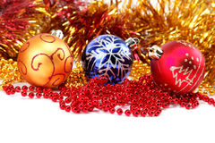 Weihnachtsdekorationen. Stockfotografie