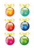 Weihnachtsdekorationen, Christbaumkugel Stockbilder