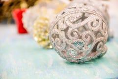 Weihnachtsdekorationen für das Haus Lizenzfreies Stockbild
