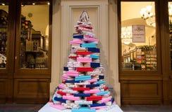 Weihnachtsdekorationen im GUMMI Lizenzfreies Stockfoto