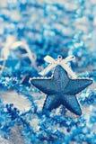 Weihnachtsdekorationen u. x28; stars& x29; Stockbilder
