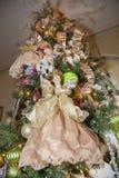 Weihnachtsdekorationengel lizenzfreie stockfotografie