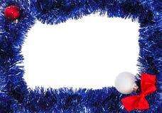 Weihnachtsdekorationfeld lizenzfreies stockfoto