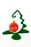 Weihnachtsdekorationkugel Stockfoto