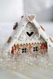 Weihnachtsdekorationslebkuchen Stockbilder