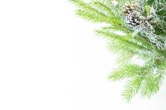 Weihnachtsdekorationsrahmen Stockfotos