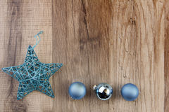 Weihnachtsdekorationstürkis Stockbilder