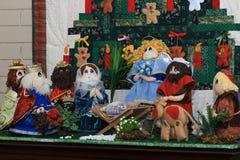 Weihnachtsdekorationsverzierungen Lizenzfreie Stockbilder