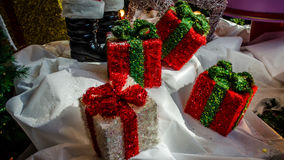 Weihnachtsdekorationszubehör Lizenzfreie Stockbilder