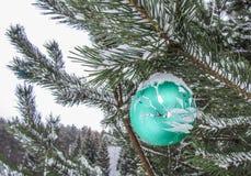 Weihnachtsdekorationweihnachtsball lizenzfreie stockfotografie
