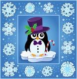 Weihnachtsdekorative Grußkarte 9 Lizenzfreie Stockfotos