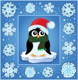 Weihnachtsdekorative Grußkarte 8 Lizenzfreie Stockfotos