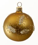 Weihnachtsdekorative Kugel Stockfoto