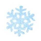 Weihnachtsdekorative Schneeflocke Stockbild