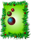 Weihnachtsdekorativer abstrakter Hintergrund mit Raum für Ihren Text Lizenzfreie Stockbilder