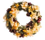 Weihnachtsdekorativer Wreath Lizenzfreie Stockfotografie