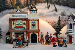 Weihnachtsdorf Lizenzfreies Stockbild