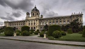 Weihnachtsdorf Maria-Theresien Platz in Vienna in Austria Royalty Free Stock Photos