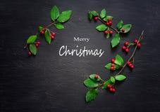 Weihnachtsdunkelheitshintergrund Stockfoto