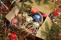 Weihnachtsdurcheinander Stockbilder