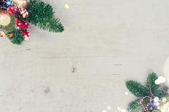 Weihnachtsebenenlage redete Szene an Lizenzfreie Stockfotos