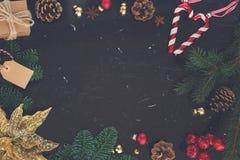 Weihnachtsebenenlage redete Szene an Lizenzfreie Stockbilder