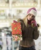 Weihnachtseinkaufen Stockbild