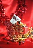 Weihnachtseinkaufen Lizenzfreies Stockfoto