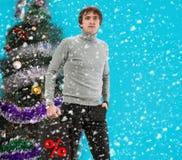 Weihnachtseinkaufen, Idee für Ihre Auslegung Lizenzfreies Stockfoto