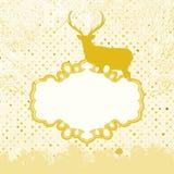 Weihnachtseinladungs-Kartenschablone. ENV 8 Lizenzfreie Stockfotografie