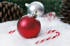 Weihnachtseinstellung lizenzfreies stockbild