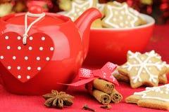 Weihnachtseinstellung Stockfotos