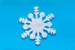 Weihnachtseiskristall Stockfoto