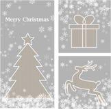 Weihnachtselemente Lizenzfreie Stockfotos