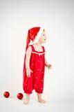 Weihnachtself Lizenzfreies Stockfoto