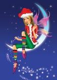 Weihnachtself Stockbild