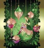 Weihnachtselfenmärchen Stockbild