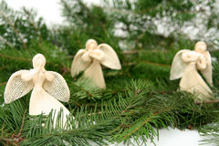 Weihnachtsengel Lizenzfreies Stockfoto