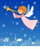 Weihnachtsengel. stock abbildung