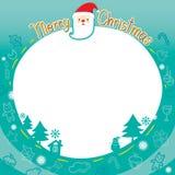 Weihnachtsentwurf verziert Grenze Lizenzfreies Stockfoto