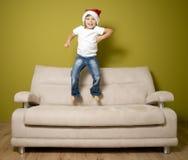 Weihnachtseuphorie Stockbild