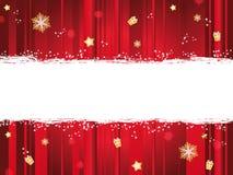 Weihnachtsfahne Stockbilder