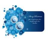 Weihnachtsfahne. Lizenzfreies Stockfoto