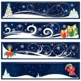 Weihnachtsfahnen Lizenzfreies Stockfoto