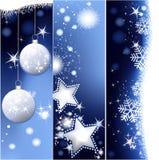 Weihnachtsfahnen Lizenzfreie Stockfotografie