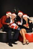 Weihnachtsfamilienurlaub Stockbild