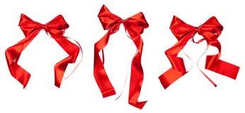 Weihnachtsfarbbänder Stockfoto